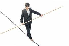 balansowanie na linie zdjęcie royalty free