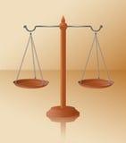 balansowe skala Fotografia Stock