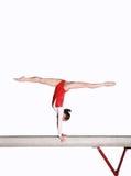 balansowy promień Fotografia Stock