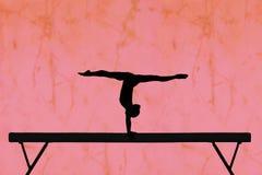 balansowy promień Obraz Royalty Free