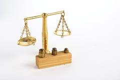 balansowy złoty Fotografia Stock