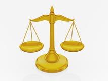 balansowy złoty Obrazy Stock