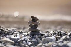 balansowy zmierzch Zdjęcie Royalty Free