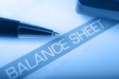 Balansrubriek met ondiepe DOF Stock Afbeelding
