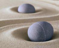 Balanza de la piedra de la meditación del zen Fotografía de archivo libre de regalías