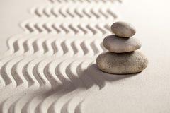 Balanza del zen para la serenidad Fotografía de archivo