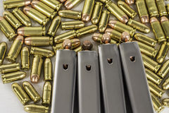Balas 4 da arma Imagem de Stock