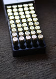 Balas da arma da mão Imagens de Stock Royalty Free