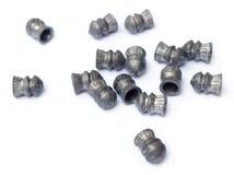 Balas da pistola pneumática Fotografia de Stock