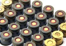 balas de 9mm Imagens de Stock