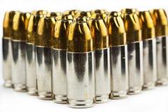 balas de 9 milímetros Fotografia de Stock Royalty Free