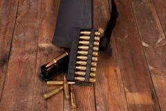 Balas del rifle Imagen de archivo libre de regalías