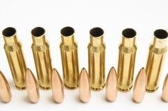 Balas del rifle separadas Imagen de archivo
