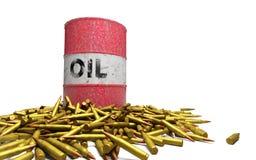 Balas do óleo Foto de Stock