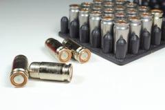 Balas muy peligrosas de un arma de fuego para el uso comercial Foto de archivo