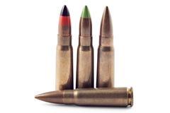 Balas para o Kalashnikov Fotografia de Stock