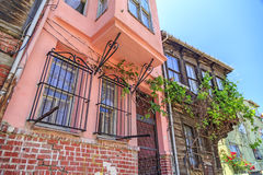 Balat区,伊斯坦布尔,土耳其 库存照片
