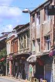 Balat区,伊斯坦布尔,土耳其 图库摄影
