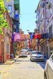 Balat-Bezirk, Istanbul, die Türkei Stockfotografie