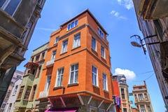 Balat-Bezirk, Istanbul, die Türkei Lizenzfreie Stockbilder