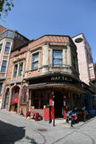 Balat district in Istanbul Royalty Free Stock Images