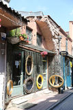 Balat district in Istanbul Royalty Free Stock Photo