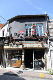 Balat district in Istanbul Royalty Free Stock Image