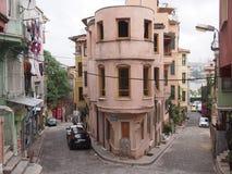 Balat gammal stad, Istanbul Royaltyfri Fotografi