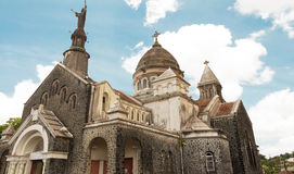 The Balata cathedral, Martinique island, French West Indies. Stock Image