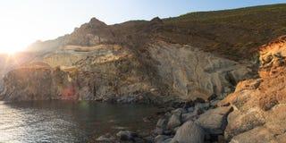 Balata dei Turchi; pantelleria Royalty Free Stock Images