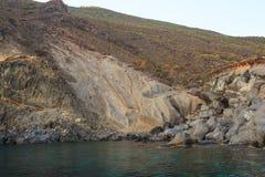 Balata dei Turchi; pantelleria Royalty Free Stock Image