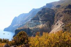 Balata dei Turchi; pantelleria Stock Images