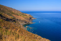 Balata dei Turchi; pantelleria Stock Image