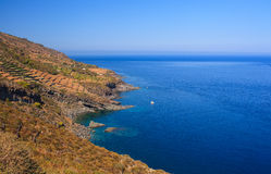 Balata dei Turchi; pantelleria Royalty Free Stock Photos