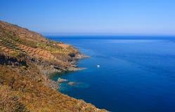 Balata dei Turchi; pantelleria Royalty Free Stock Photos
