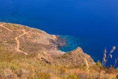 Balata dei Turchi; pantelleria Royalty Free Stock Photo