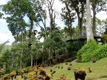 Famous tropical gardens Royalty Free Stock Photography