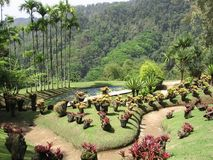 Famous tropical gardens Stock Images