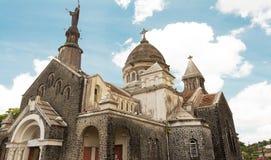 Balatadomkyrkan, Martinique ö, franska västra Indies fotografering för bildbyråer