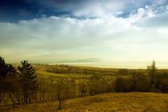 balaton匈牙利山地 库存照片