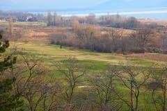 Balaton山地,匈牙利。 免版税库存照片