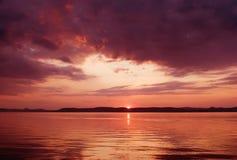 balaton湖系列 免版税库存图片