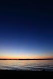 balaton ηλιοβασίλεμα λιμνών Στοκ φωτογραφία με δικαίωμα ελεύθερης χρήσης