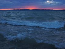balaton λίμνη της Ουγγαρίας Στοκ Φωτογραφίες