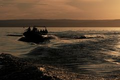 balaton λίμνη της Ουγγαρίας Στοκ φωτογραφία με δικαίωμα ελεύθερης χρήσης