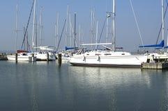 balaton ναυσιπλοΐα λιμενικών λ& Στοκ εικόνα με δικαίωμα ελεύθερης χρήσης