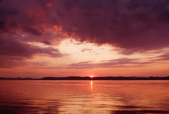 balaton σειρά λιμνών Στοκ εικόνες με δικαίωμα ελεύθερης χρήσης