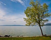 balaton όψη λιμνών της Ουγγαρίας Στοκ εικόνα με δικαίωμα ελεύθερης χρήσης