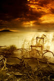 balaton湖 免版税库存照片