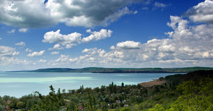 Balaton. The Lake Balaton in Hungary Royalty Free Stock Photos